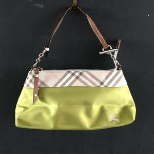 Handbags - Burberry style shoulder bag purse Blue label